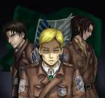 Survey Corps Trio