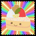 Kawaii Cake by kinga-saiyans
