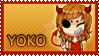 CP: Stamp for Yoko-Touko by kinga-saiyans