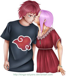 CP: Sasori and Sakura 4 petiteantoinette by kinga-saiyans