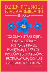 04 PLAKAT - Dzien Polskiej Niezapominajki