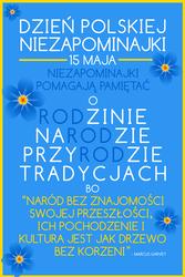 03 PLAKAT - Dzien Polskiej Niezapominajki
