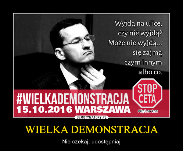 Marzenie Morawieckiego