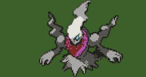 Pokemon Pixel Art: Darkrai by Nonamewayward