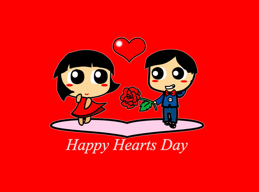 Image Of Happy Hearts Day