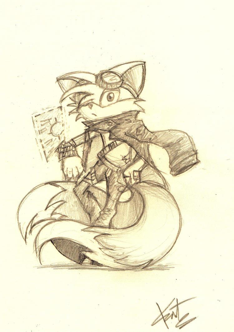 Tails by fireytika
