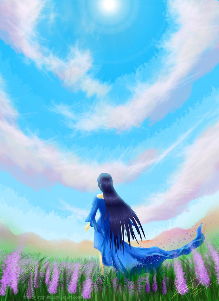 Blue Sky by fireytika