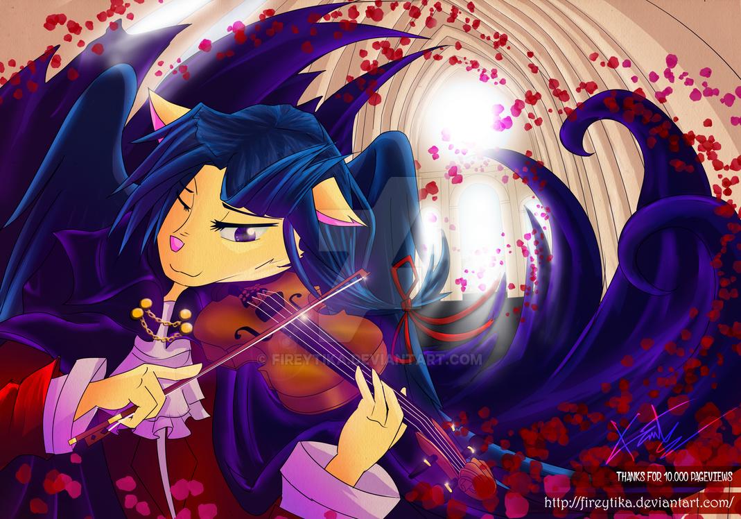 Devil's Violinist by fireytika