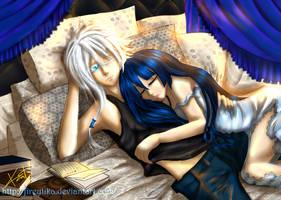 Asleep by fireytika