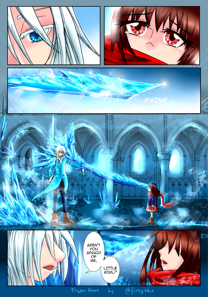Frozen heart page preview by fireytika on DeviantArt