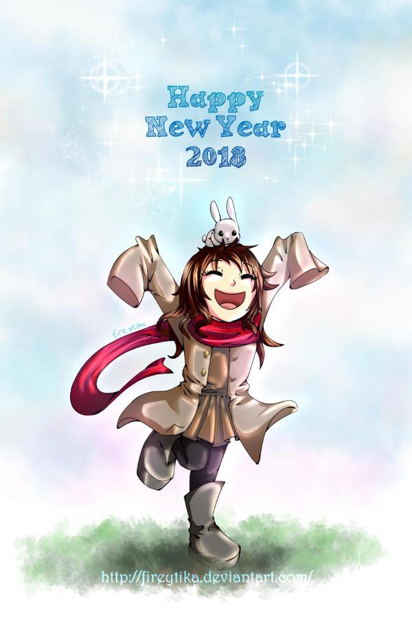 Happy New Year! by fireytika