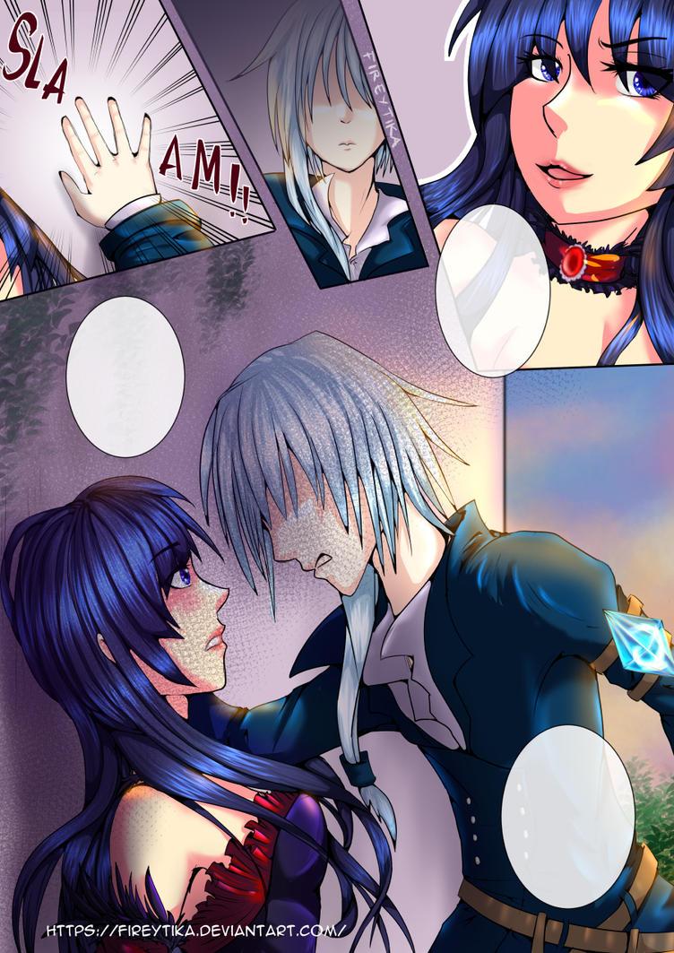 KABEDDON manga page by fireytika