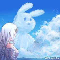 Aluca and Bunny Cloud