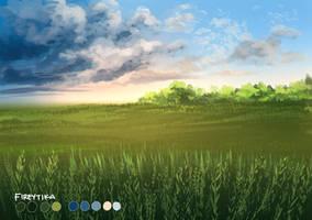 Grassland by fireytika