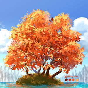 Japanesse mapple tree - Daily Tree day 4