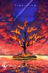 Burning Tree [c] by fireytika