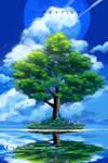 Spring Tree [c] by fireytika