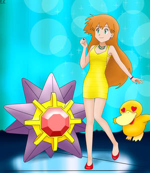 Gym Leader Misty (Dance Outfit) + Starmie