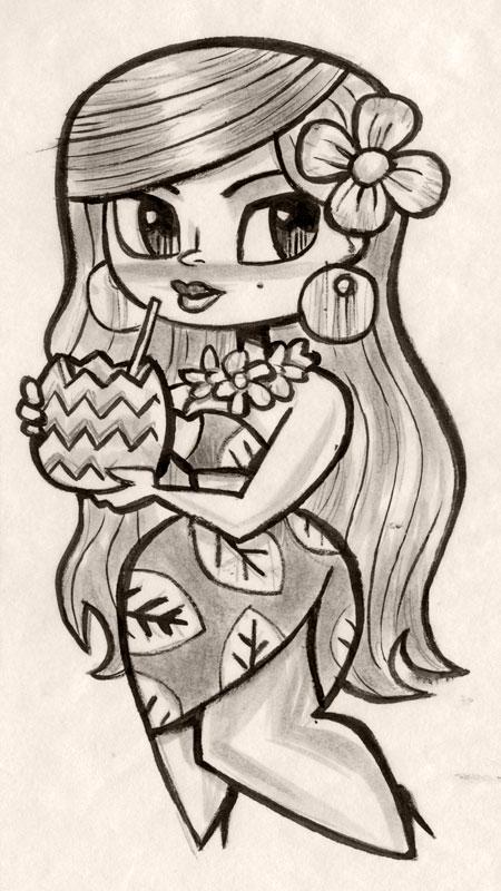 Mai Kai girl by ecofugal