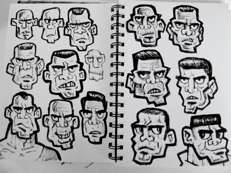 Heads by ecofugal