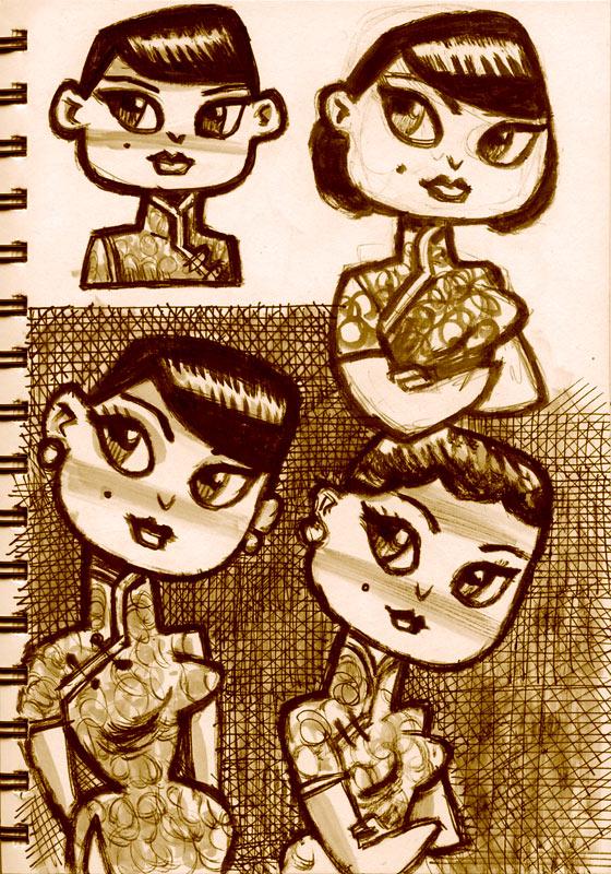 Girls by ecofugal
