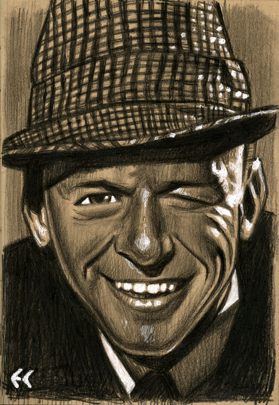 Frank Sinatra by ecofugal