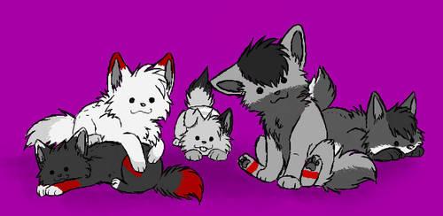 Meet Our Pups by ZachTheWolf