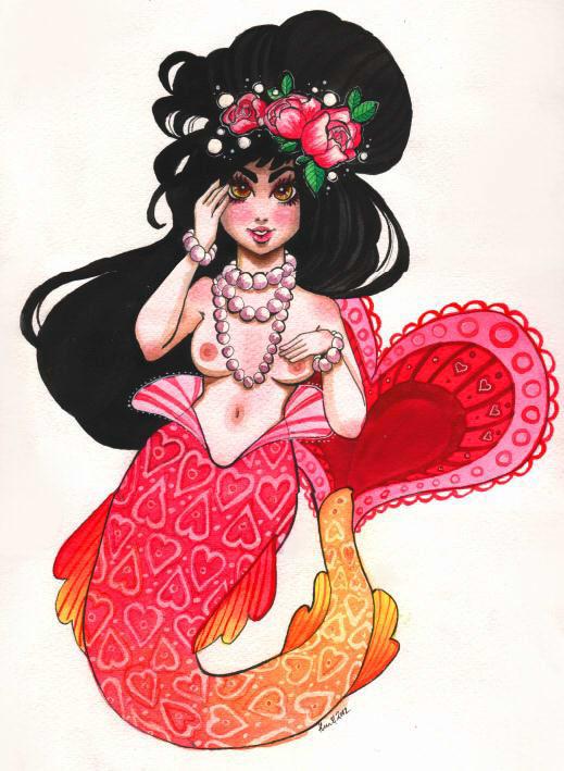 SS: mermaid by Tankero