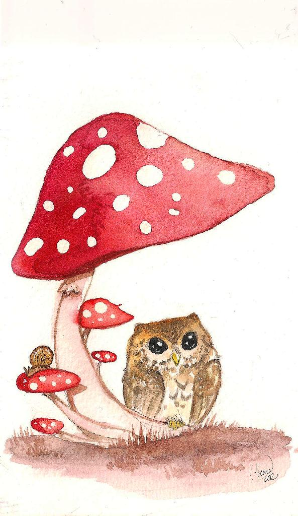 +Under the Mushroom+ by Tankero