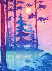 Pastel Evening
