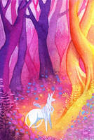 Unicorn Forest by Tankero