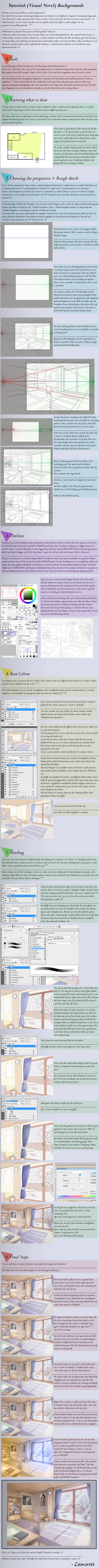 Visual Novel / Anime Background Tutorial