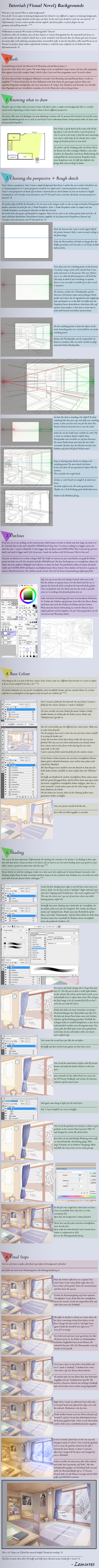 Visual Novel \/ Anime Background Tutorial by Lemur3s on DeviantArt