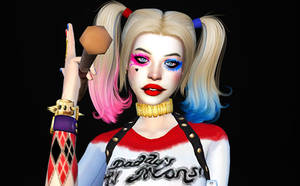 Harley Primo Quinn portrait by la-gaugin