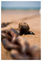 Chain on the Beach by Avaloniteaa