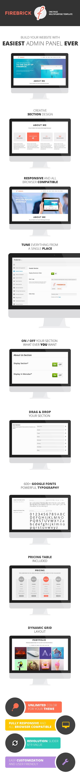 Firebrick - Multipurpose One Page WordPress Theme