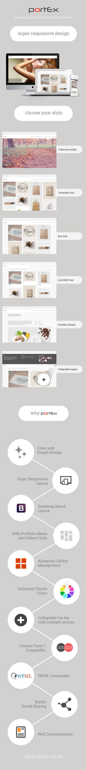 Portex Feature Description by ThemeBucket
