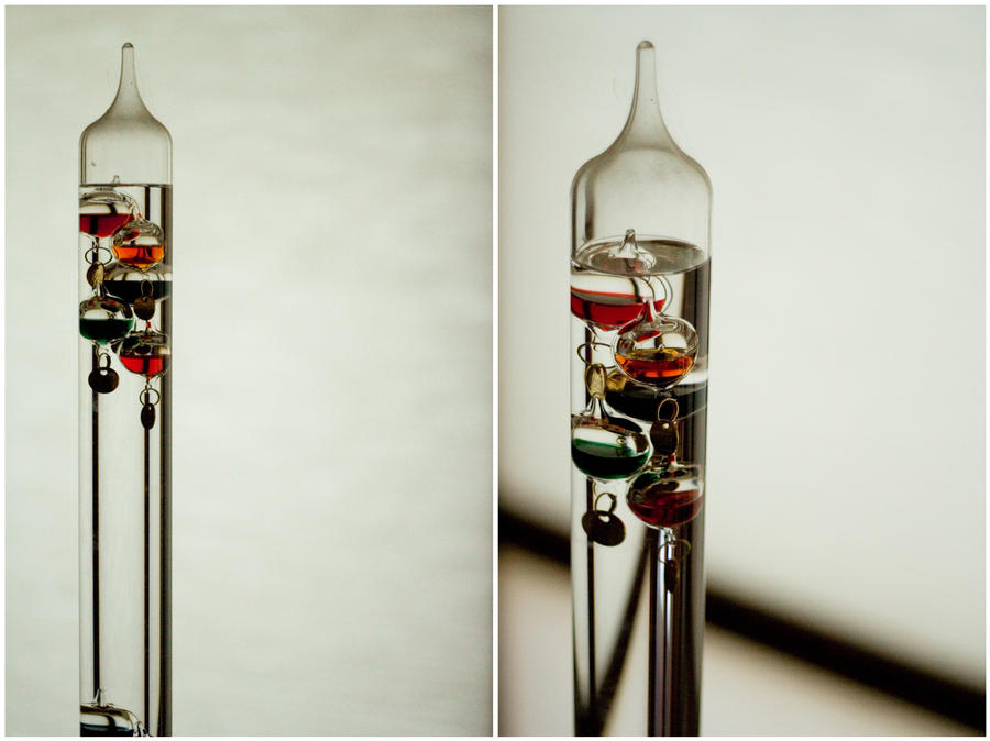 Galileo Thermometer by ShariJoy