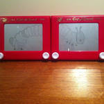 The Very Hungry Caterpillar Etch A Sketch by 2-Star