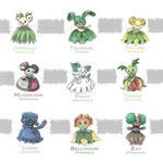 Bellossom's Breed Variations