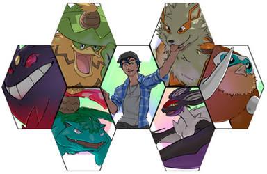Pokemon Team Hiro