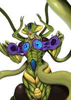 Chrono Trigger Collab: Lavos Body by tenpoundpixel