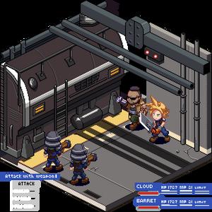 Final Fantasy 7 Remake Diorama