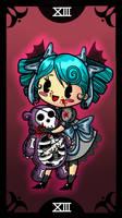 Chibi Tarot - DEATH
