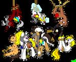 Pixel Pony Round Up by Fyre-Medi