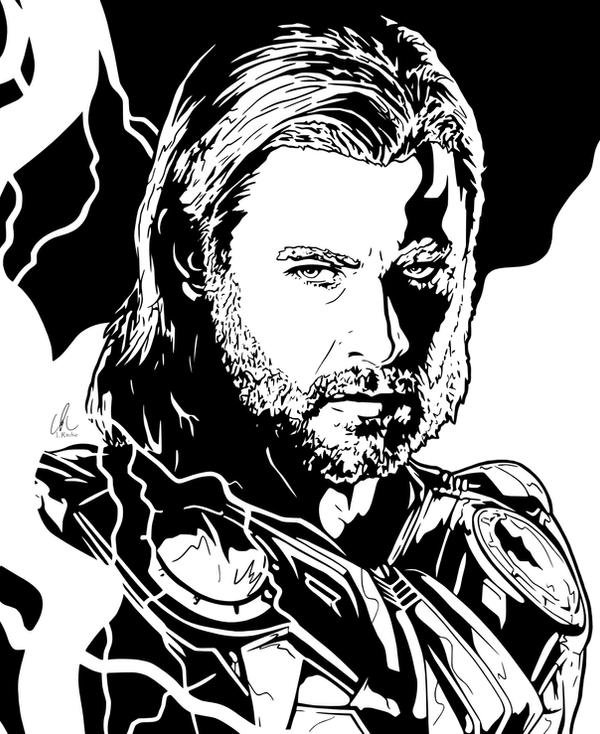 Thor - Thunderstruck by DynamixINK on DeviantArt