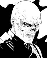 Red Skull - I See Red by LRitchieArtworx
