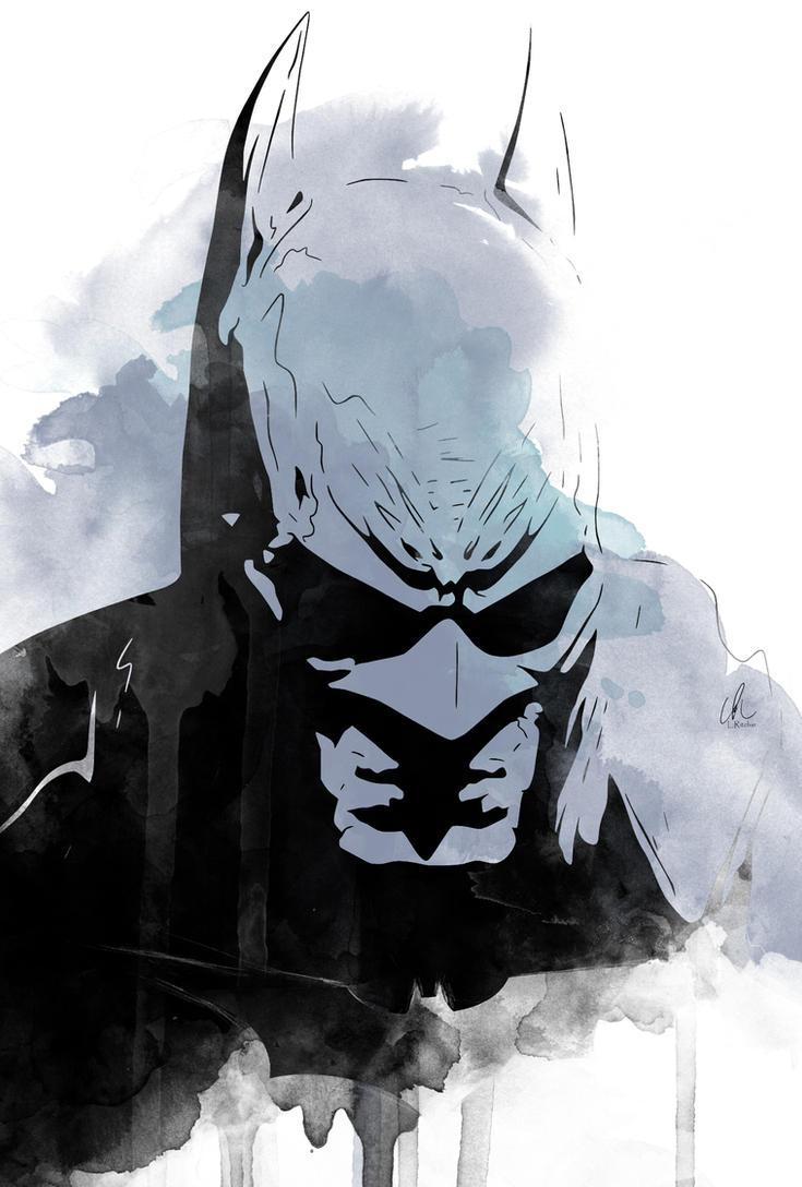Batman - The Bat by LRitchieART