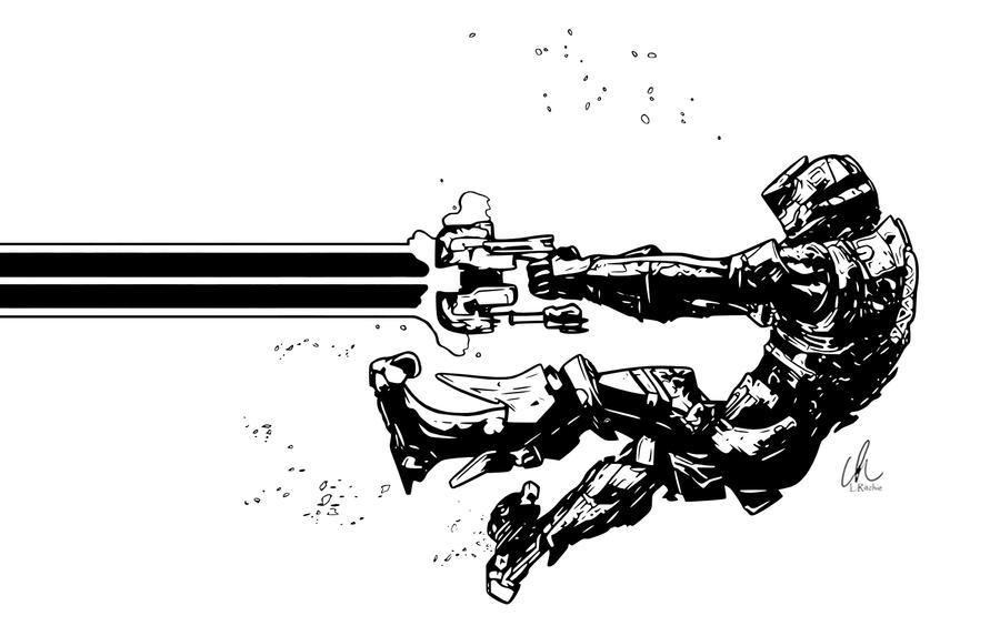 Dead Space - Blast Off by LRitchieART