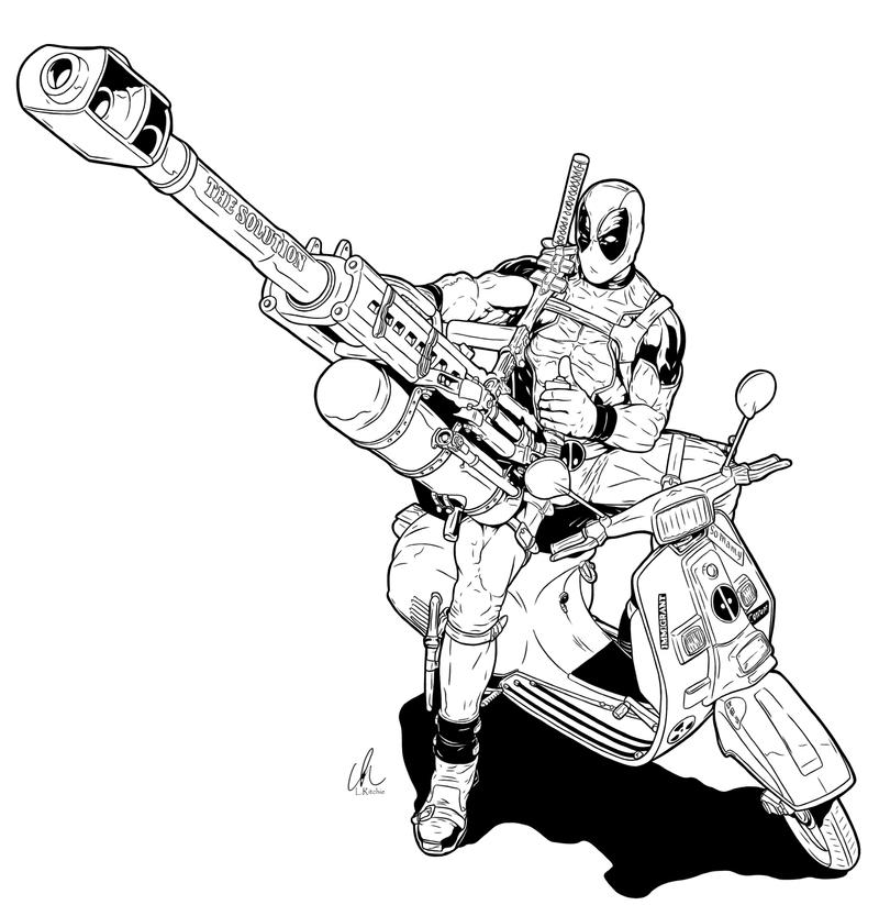 Deadpool - BFG